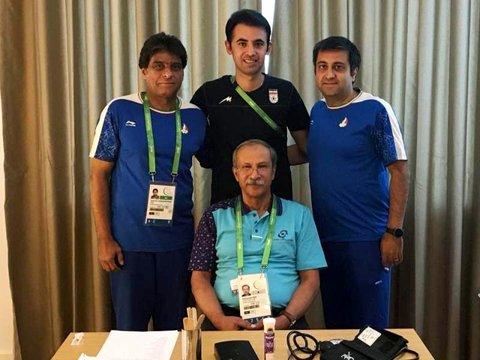 دکتر رازی از کلینیک فدراسیون پزشکی ورزشی بازدید کرد