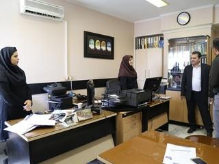 بازدید دکتر ملک محمدی از بخش های مختلف فدراسیون