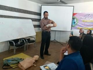 کارگاه کمکهای اولیه در خوزستان برگزار شد