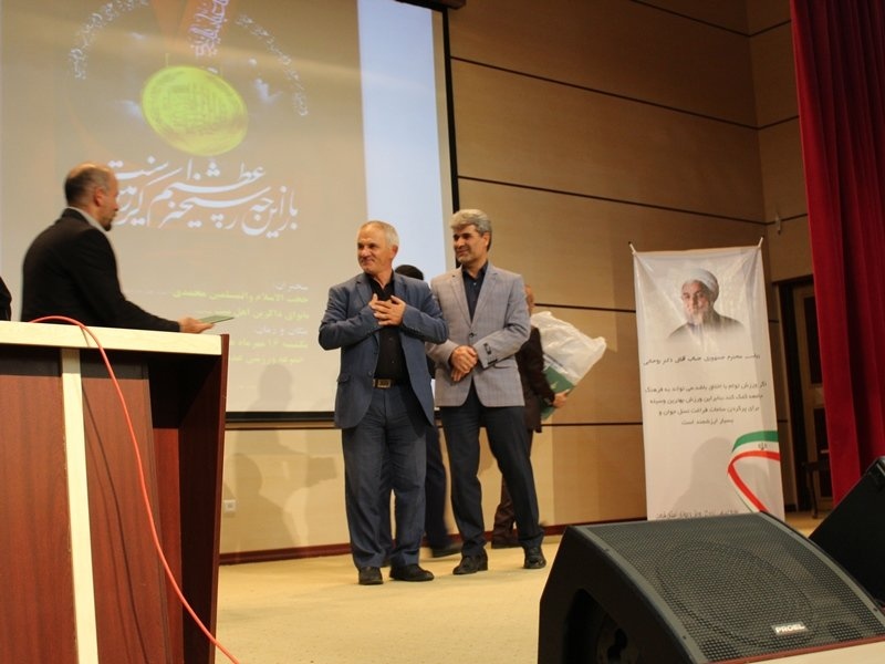 تقدیر هیأت پزشکی ورزشی از مدیرکل سابق ورزش و جوانان قزوین