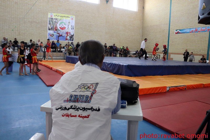 پوشش پزشکی مسابقات ووشو استان فارس