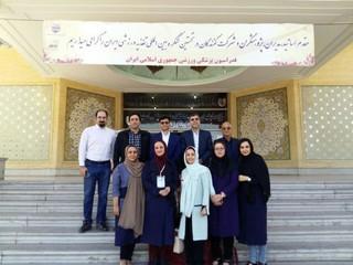 اعضای هیات پزشکی ورزشی استان یزد در  کنگره بین المللی تغذیه ورزشی-اصفهان حضور یافت