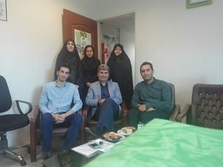 بازدید نمایندگان هیأت پزشکی ورزشی قزوین از شهرستان های تابعه