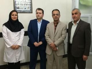 بازدید دکتر ملک محمدی از کلینیک فیزیوتراپی هیات پزشکی ورزشی کهگیلویه و بویر احمد