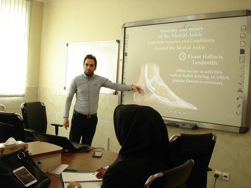 گزارش تصویری/ دوره آموزشی  پیشگیری از آسیب های ورزشی