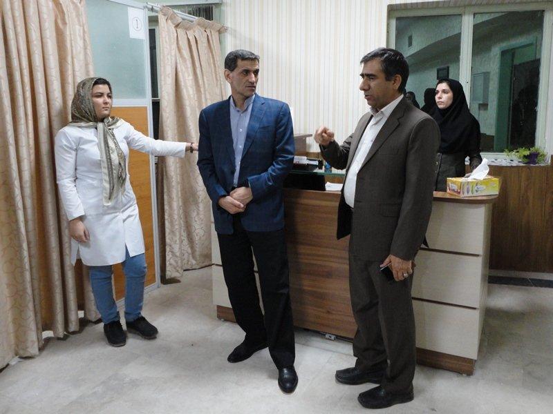 بازدید دکتر نوروزی از هیأت پزشکی ورزشی کرمان