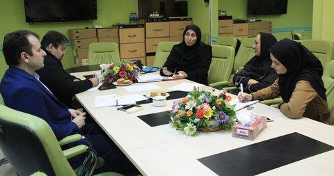 نشست هماهنگی فدراسیون پزشکی ورزشی با نماینده وزارت علوم