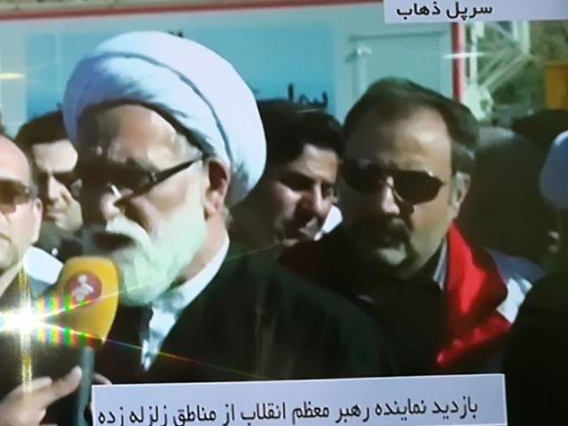 حضور رئیس هیئت پزشکی ورزشی استان قم درمناطق زلزله زده کرمانشاه