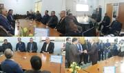 مراسم معارفه رئیس هیات پزشکی ورزشی گنبدکاووس برگزار شد
