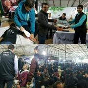 ارائه خدمت موکب هیات پزشکی ورزشی فارس به بیش از 800 زائر در مشهد مقدس