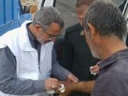 استقرار دکتر رمضان حیدریان در روستای کفروسلمان پل ذهاب