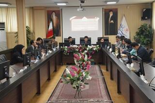 جلسه کمیته مالی با شهرستانهای زنجان