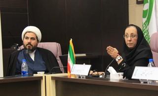 حضور نایب رئیس بانوان فدراسیون پزشکی ورزشی در همایش عفاف و حجاب دانشگاه الزهرا(س)