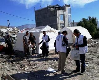 کمک رسانی استان فارس