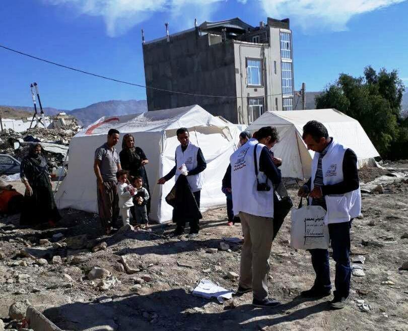 پایان ماموریت هیات پزشکی ورزشی فارس در منطقه زلزله زده استان کرمانشاه