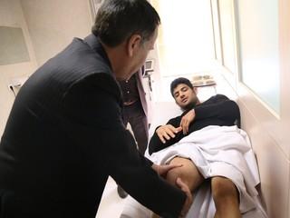 حضور علیرضا کریمی در فدراسیون پزشکی ورزشی