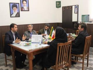 بازدید نمایندگان هیات پزشکی ورزشی استان مرکزی از شهرستان خمین