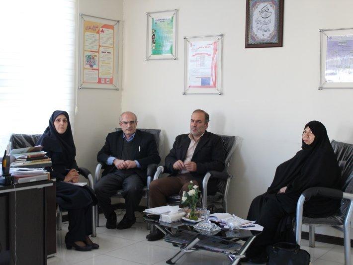 جلسه هماهنگی ناظرین هیأت پزشکی قزوین