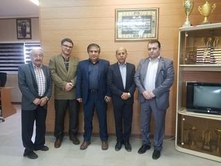 دیدار دکتر ملک محمدی و دانشور