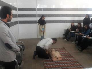 کارگاه آموزشی احیاء قلبی و تنفسی