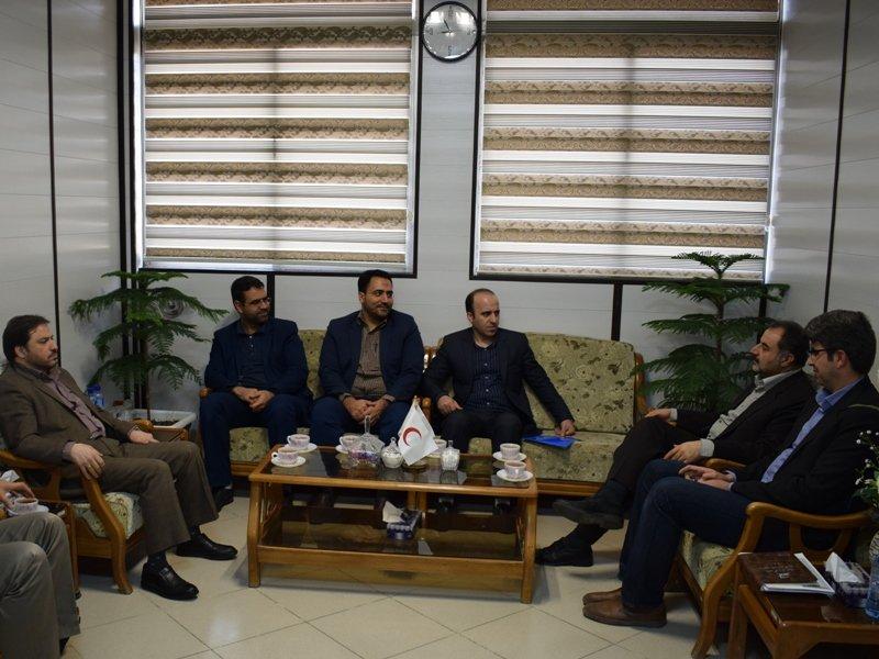 دیدار دکتر گل فشان با مدیرکل ورزش و جوانان استان قم