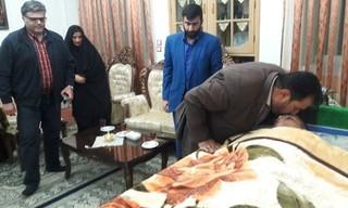دیدار مسئولین ورزش سیستان و بلوچستان از ورزشکاران ضایعه نخاعی