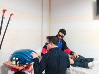 ملی پوش جوان وزنه برداری در اردبیل تحت درمان قرار گرفت