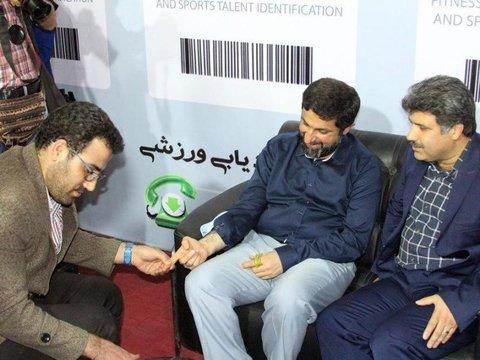 استاندار خوزستان از غرفه هیات پزشکی ورزشی بازدید کرد