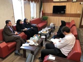 نشست هماهنگی هیأت رئیسه پزشکی ورزشی قزوین با مدیرکل ورزش و جوانان