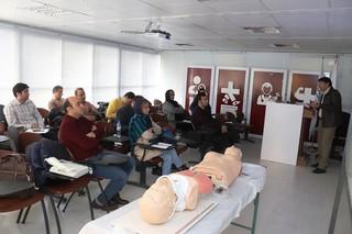 گزارش تصویری آموزش پزشک تیم در شیراز