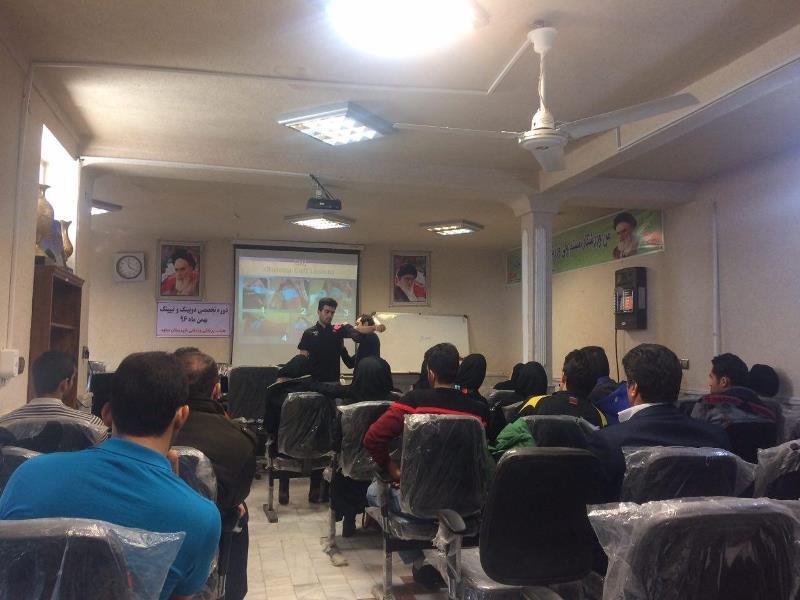 گزارش تصویری /دوره آموزشی تخصصی – شهرستان ساوه