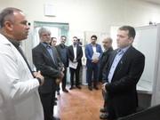 بازدید دکتر ملک محمدی از کلینیک هیات پزشکی ورزشی آذربایجان شرقی