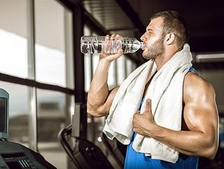 آب بدن ورزشکاران