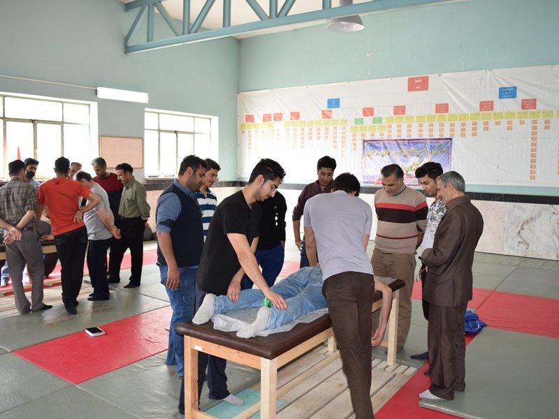 گزارش تصویری از دوره عملی ماساژ ورزشی در شاهرود استان سمنان