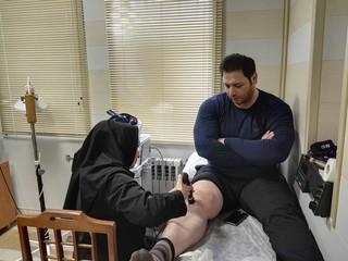 پیگیری درمان سعید علی حسینی در هیات پزشکی ورزشی اردبیل
