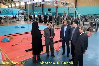 بازدید رئیس هیات فارس از پایگاه قهرمانی شیراز