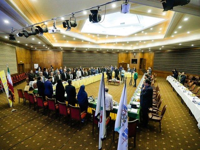 مجمع عمومی و سالانه فدراسیون پزشکی ورزشی( بخش اول)