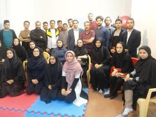 دوره آموزشی یکصد ساعته امدادگری ورزشی در کرمان پایان یافت