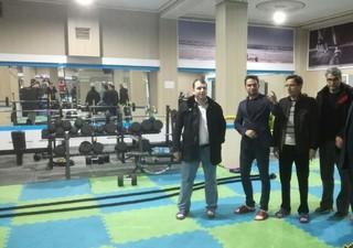 بازرسی دبیر فدراسیون پزشکی ورزشی از اماکن ورزشی خراسان شمالی