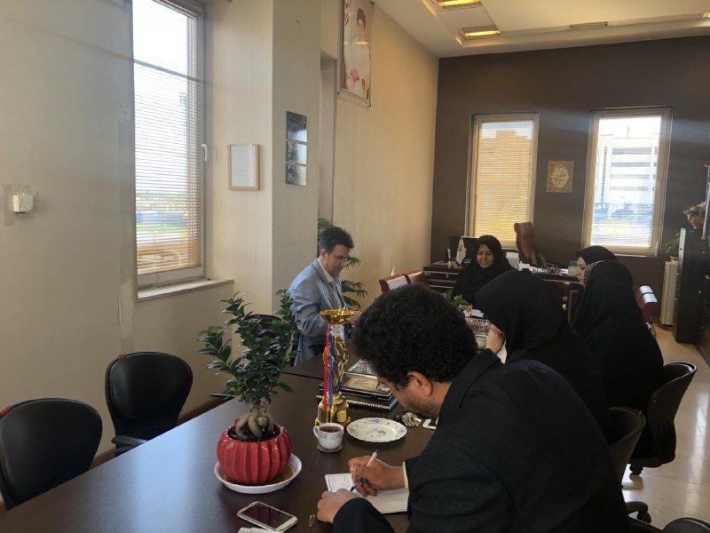 نشست هماهنگی هیات پزشکی ورزشی و ورزش و جوانان قزوین