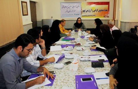 کمیته های تغذیه استان بوشهر