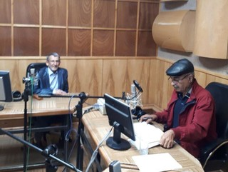 مصاحبه رادیویی