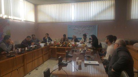 جلسه مسئولین شهرستانهای زنجان