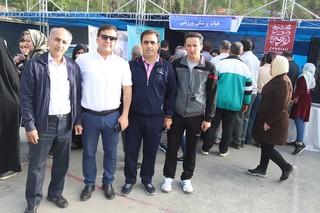 برپایی ایستگاه پزشکی ورزشی در شیراز