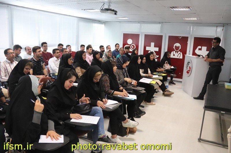 اولین دوره آموزشی ماساژ ورزشی سال ۹۷ استان فارس در حال برگزاری است