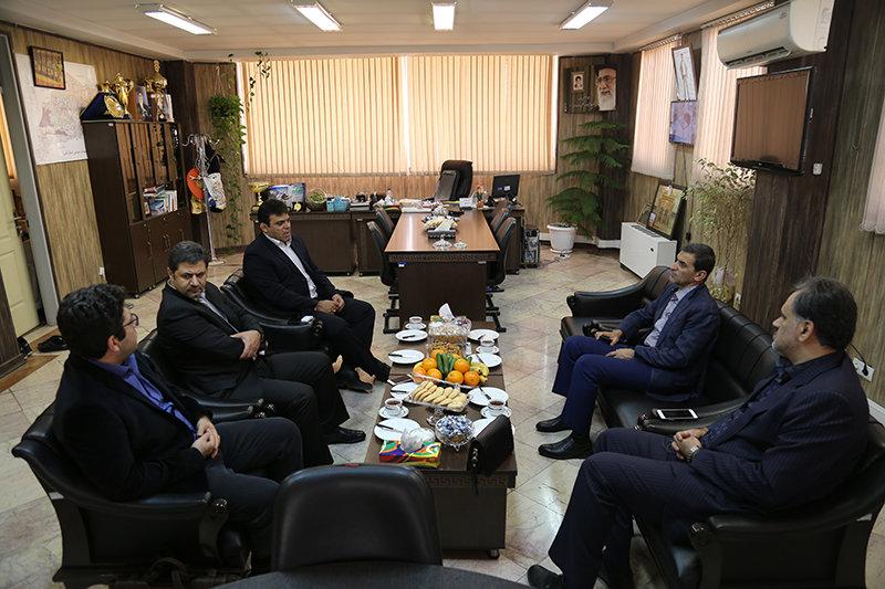 دیدار رئیس فدراسیون پزشکی ورزشی با مدیرکل ورزش و جوانان البرز