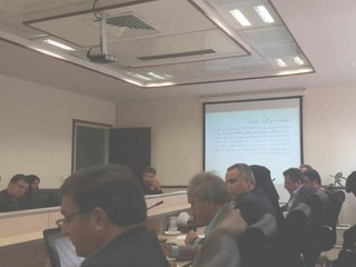 دومین جلسه کارگروه سلامت و امنیت غذایی استان تهران در سال ۱۳۹۷