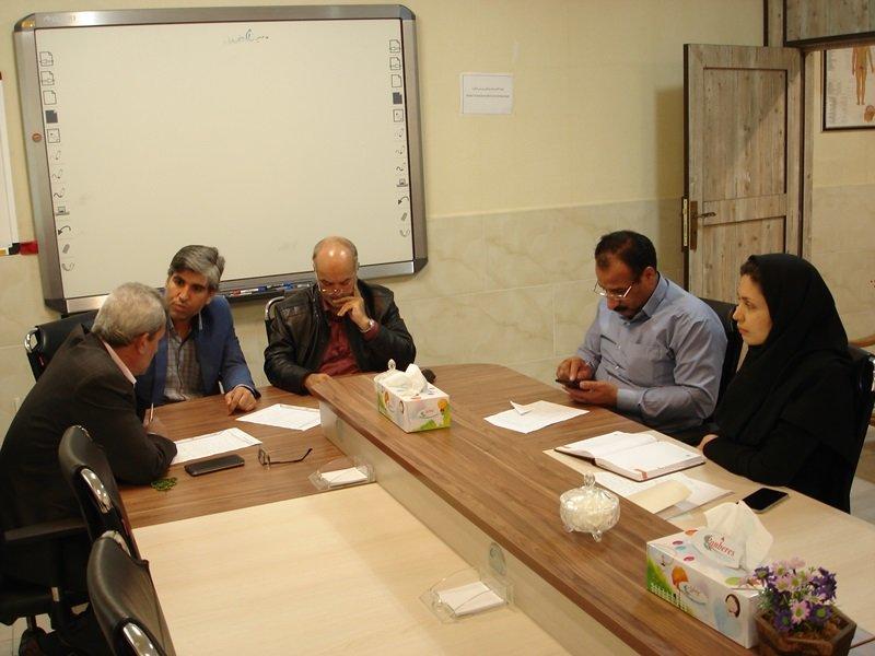 نشست هیات رئیسه هیات پزشکی استان مرکزی