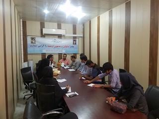 تشکیل کمیته سلامت درجهت بازرسی از اماکن ورزشی استان هرمزگان
