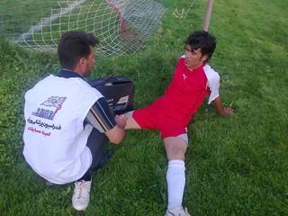 پوشش پزشکی مسابقات - چهار محال وبختیاری